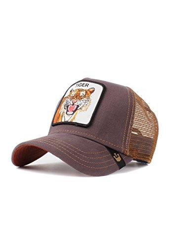 Goorin Bros. Trucker Cap Eye of The Tiger Braun, Size:ONE Size