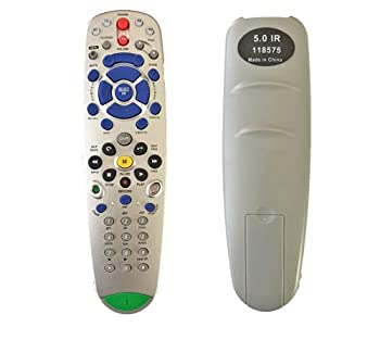 Replace Remote Fit for Dish Network Bell Express VU 5.0 IR Remote 118575 TV1 211 301,622