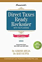 Commercial's Direct Taxes Ready Reckoner with Tax Planning - 22/edition, 2021