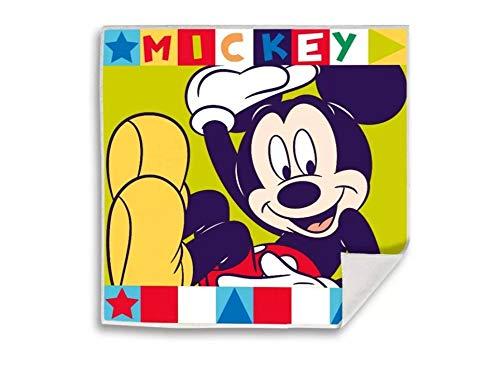 Kid Licensing Surtido Toallitas Magicas 4 Diseño Mickey Y Minnie 30X30Cm - Toallas
