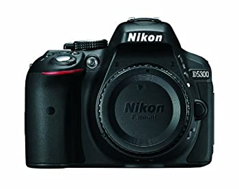 Nikon D5300 24.2 MP CMOS Digital SLR Camera with Built-in Wi-Fi and GPS Body Only  Black