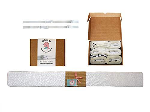 Kit Colecho completo: Anclaje + Colchón auxiliar - Sistema universal para hacer colecho seguro. Une cualquier cuna del mercado con cualquier cama.