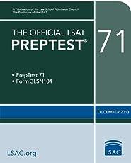 The Official LSAT PrepTest 71--December 2013 (Official LSAT PrepTests)