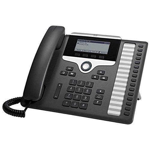 Cisco 7861 16Zeilen LCD Wired Handset Schwarz, Silber - IP-Telefon (LCD, 396 x 162 Pixel, 8,89 cm (3,5 Zoll), 16 Zeilen, G.711a, G.722, G.729A, G.729B, iLBC, IEEE Jahrestag, IEEE 802.3af)