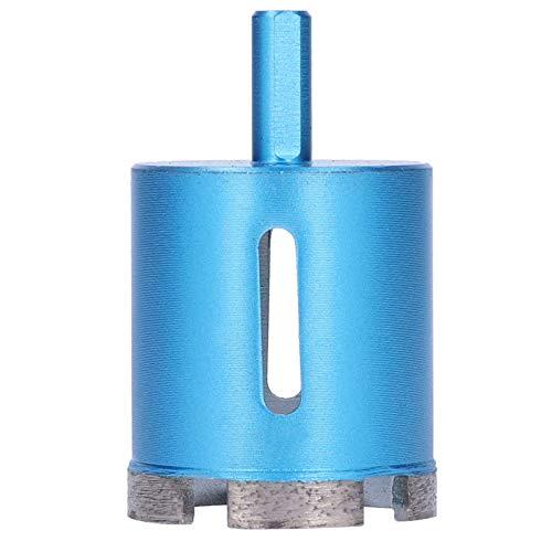 Broca de diamante, taladro eléctrico manual, taladro de sinterización, cortador de sierra, taladro con orificio de viruta ovalado(50mm)