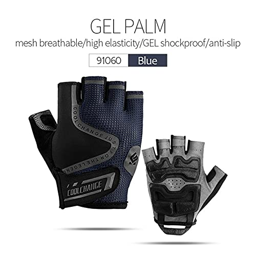 Cycling Gloves Half Finger Mens Women's Summer Sports Shockproof Bike Gloves GEL MTB Bicycle Gloves Guantes Ciclismo-a32-S