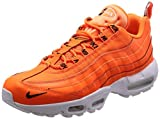 Nike Air Max 95 Premium, Sneakers Basses Homme, Orange (Orange 538416-801), 43 EU
