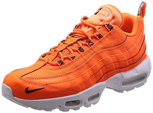 Nike Air Max 95 Prm Uomo Running Trainers 538416 Sneakers Scarpe (UK 7 US 8 EU 41, Total Orange Black White 801)