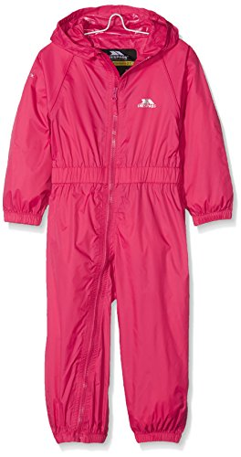 BUTTON Boys Waterproof Windproof Breathable All In One Rain Suit