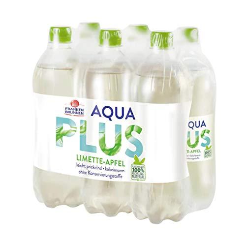 Franken Brunnen Aqua Plus Limette Apfel natürlich leicht EW 6 x 750ml