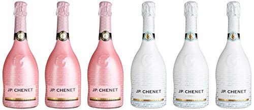 J.P. Chenet Mischpaket Ice Edition Weiß und Rosé Halbtrocken (6 x 0.75 l)