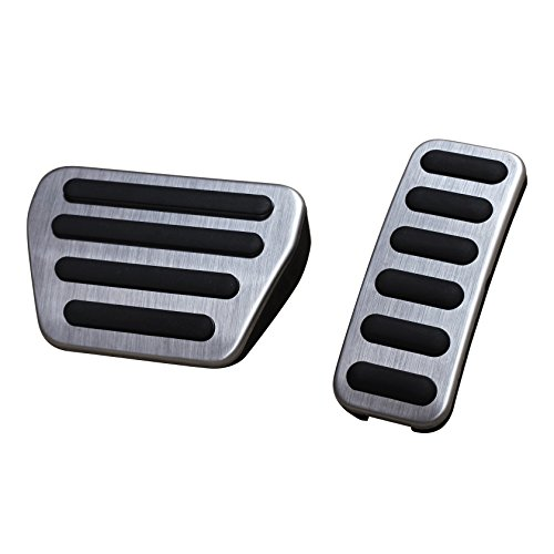 AutoBig Gas Brake Pedal Pad Cover Set Compatible with Range Rover Sport 2014-2020, Land Rover Discovery 5 2017-2020