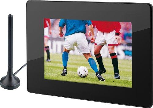 Rollei DF-8 Digitaler Bilderrahmen (20,3 cm (8 Zoll) Display, DVB-T Tuner mit Antenne, MP3) schwarz