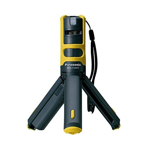 Panasonic(パナソニック) レーザーマーカー 墨出し名人 ケータイ 壁十文字タイプ プラスチックケース付き イエロー BTL1100Y