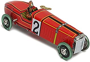 My Toots Vintage Wind Up Racing Car Model Clockwork Tin Toy Collectible Gift