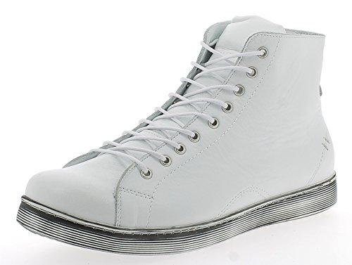 Andrea Conti Damen 0341500 Hohe Sneaker, Weiß, 38 EU