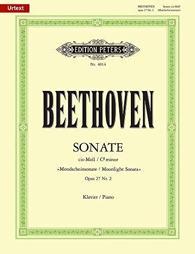Sonate für Klavier Nr. 14 cis-Moll op. 27; 2
