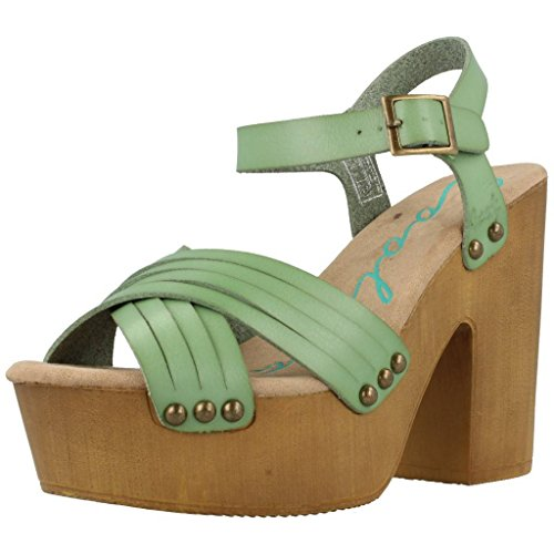 Coolway Sandalias Chanclas Mujer Cohen para Mujer Verde 40 EU