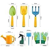 Immagine 1 set giardinaggio attrezzi per bambini