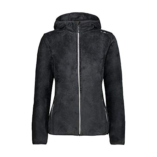 CMP Highloft Fleecejacke 2XL Nero-Graffite