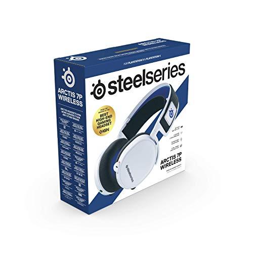 SteelSeries Arctis 7P blanco