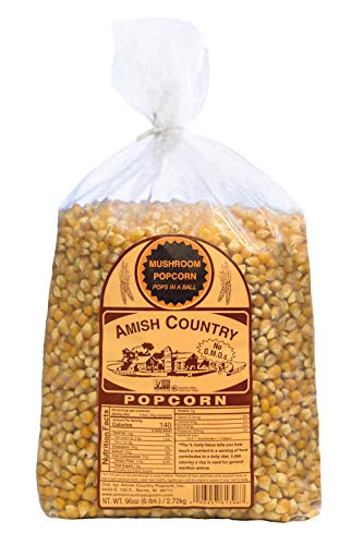 Amish Country Popcorn - 6 Lb Mushroom Kernels