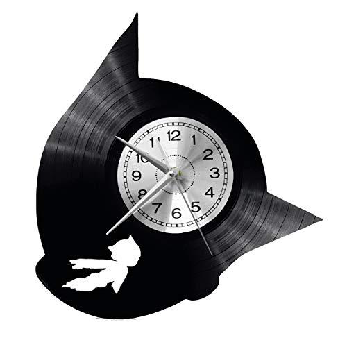 WoD Astro Boy wandklok vinyl plaat retro klok grote klokken stijl huis decoratie leuk geschenk klok