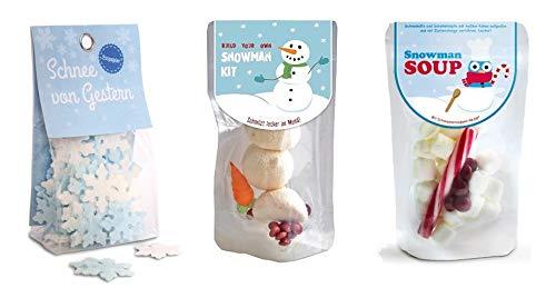 Liebeskummerpillen | weihnachtliches Schneeman-Set | Snowman Kit, Schneemann-Suppe und