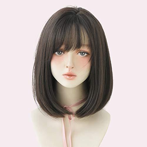 Mesdames Épaule De Soie À Haute Température Courte Cheveux Raides, Décoration Apparence, Robe De Soirée De Fantaisie , L' Anime Cosplay Perruque