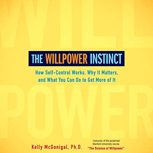 Page de couverture de The Willpower Instinct