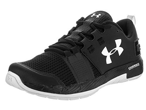 Under Armour Commit Mens Training Fitness Trainer Shoe Black/White - UK 9
