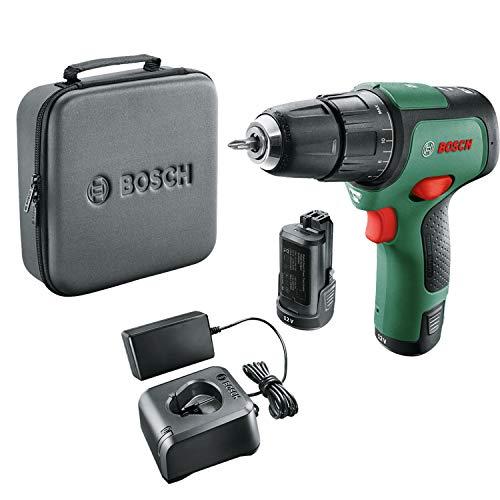 Perceuse à percussion sans-fil Bosch - EasyImpact 12 (2 batteries, système 12V, dans une housse de rangement souple)