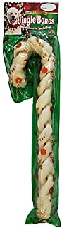 braided rawhide candy cane