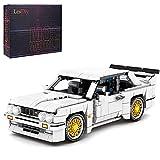 TRCS Juego de bloques de construcción para coches deportivos, 678 piezas, de Speed Champions de carreras, compatible con Lego Mercedes-Benz AMG C63