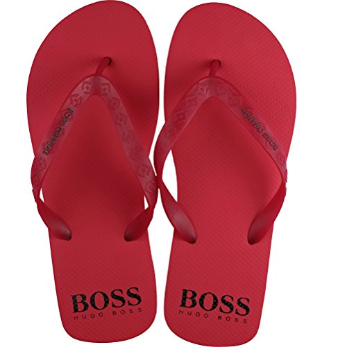 BOSS Herren Loy 10189806 01 Zehentrenner, Rot (Bright Red 620), 41/42