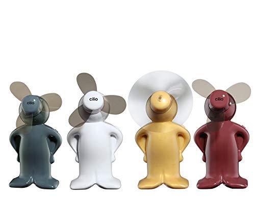 Cilio Mini-Ventilator Vento-Boy / 4 Stück farblich Sortiert