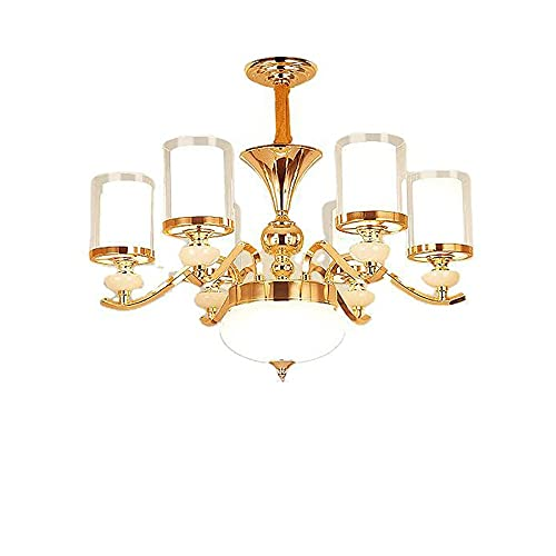 WXUGZ Lámpara de Techo de Cristal Moderno, Dormitorio Sala de Estar Restaurante lámpara de araña de la Sala de Estar de iluminación de Interiores