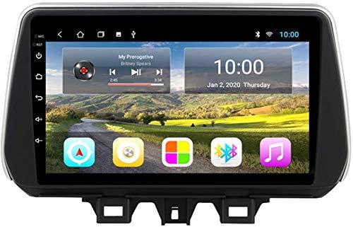 El Reproductor Multimedia De Navegación del Coche GPS Es Adecuado para Hyundai Tucson 2019 Android con La Máquina Integrada Bluetooth Touch Completo,4core 4g WiFi:1+32gb