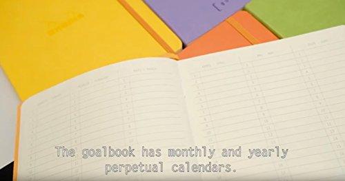 Rhodia Goalbook Journal, A5, Dotted - Iris Photo #5