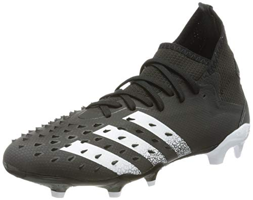 adidas Predator Freak .2 FG, Zapatillas de fútbol Hombre, NEGBÁS FTWBLA NEGBÁS, 42 2 3 EU
