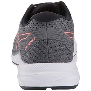 ASICS Women's Gel-Excite 6 Running Shoes, 10M, Steel Grey/Papaya
