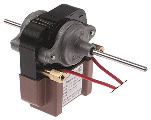 Horeca-Select Lüftermotor 220-240V IN 22W / OUT 5 W 50Hz Höhe 73mm Achse ø 4x20/48mm Breite 66mm Länge 65mm