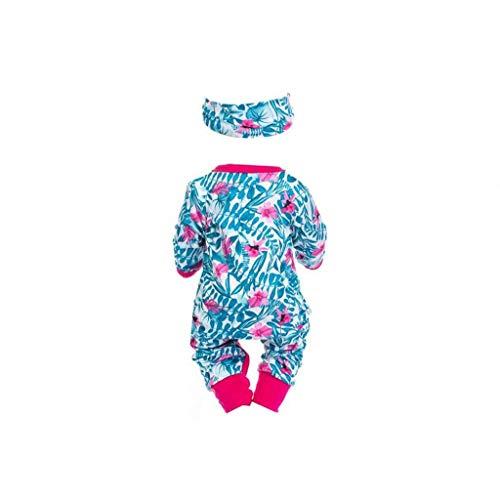 Doll Clothes Zipper Madagascar Rosy Pervinca del modello Baby Doll maniche lunghe Outfits Tute con fasce Multi Function bambola di accessori per bambini prima educazione bambini giocattoli