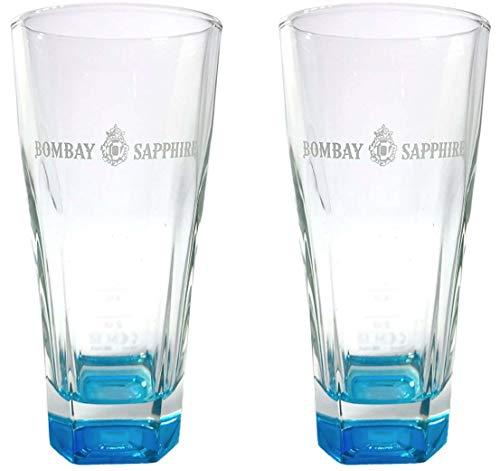 Bombay Sapphire vasos altos (2 unidades)
