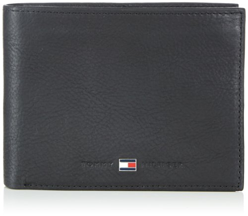 Tommy Hilfiger Johnson CC Flap & Coin Pocket - Monedero de Cuero Hombre