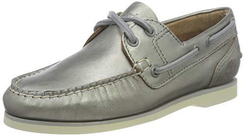 Timberland Damen Classic Bootsschuhe, Grau Medium Grey Metallic, 39 EU