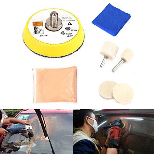 yeehao Autoglas Polier Kit Windschutzscheibe Fenster Kratzer Entferner Repair Tool