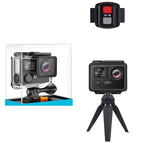 ZHLZH Sports Camera/Waterproof Camera/Waterproof DV Camcorder, Ultra HD Action Camera with Ambarella A12 Chip 4K/30fps 1080P/60fps EIS 30m Waterproof Sport Camera