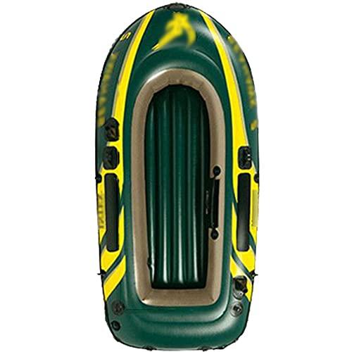 Priority Culture Kayak Hinchable Apto para 2/3 Personas Canoa para Mar Portátil Piragua Inflable Apto para Pescar Y Jugar En La Costa. (Color : Orange, Size : 236 * 114cm)