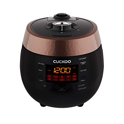 Cuckoo Reiskocher 1,08l CRP-R0607F Digitaler Dampfdruck